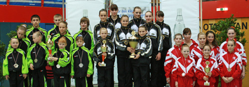 Siegerehrung der DMM Jugend 2009