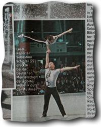 Lukas und Nikolaj in der Bild-Zeitung
