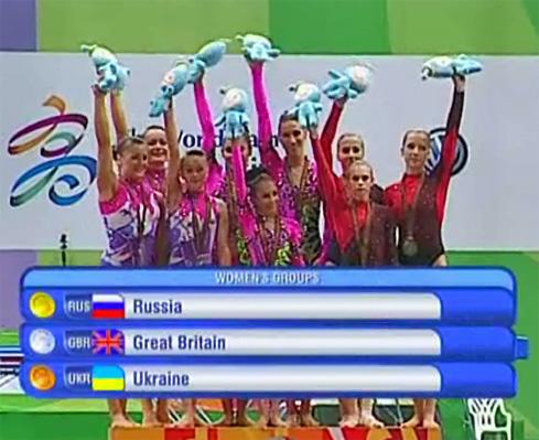 Siegerehrung World Games