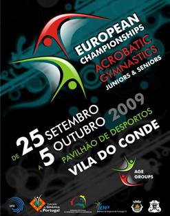 Europameisterschaft Sportakrobatik 2009
