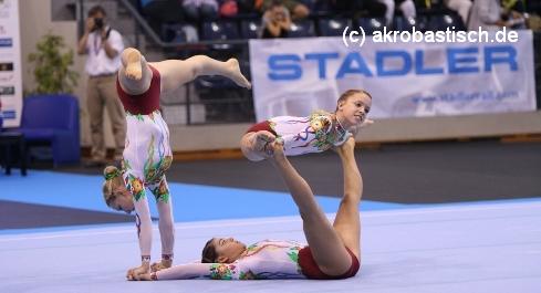 Katharina Turnwald, Melina Kuklinksi und Celine Bauder