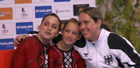 Nina Wanner und Marissa Monz