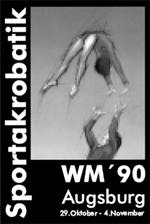 WM 1990 in Augsburg