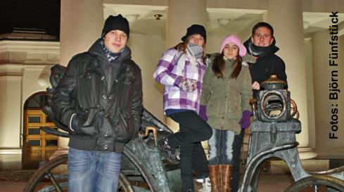 Die Sportakrobaten des SC Hoyerswerda waren in Minsk