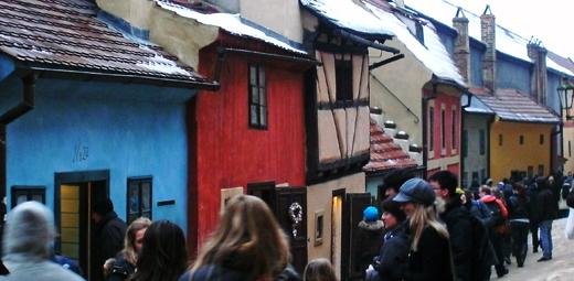 Goldenes Gässchen in Prag