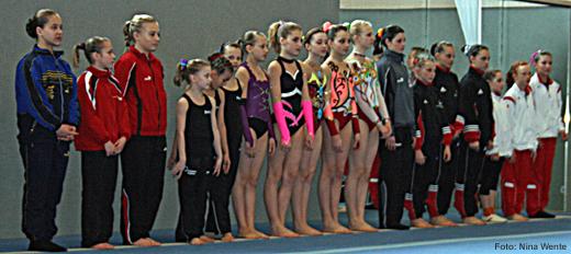 Das Starterfeld der Süddeutschen Meisterschaft Schüler 2010