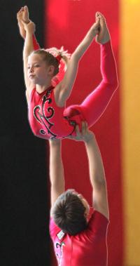 Alexander Morosz und Yasmin Sroka