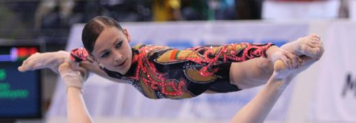Welt- und Europameisterin Katsiaryna Murashko aus Weißrussland