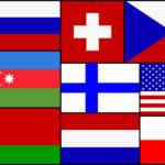 Elf Flaggen für Riesa
