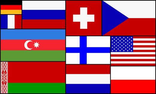 11 Flaggen für Riesa