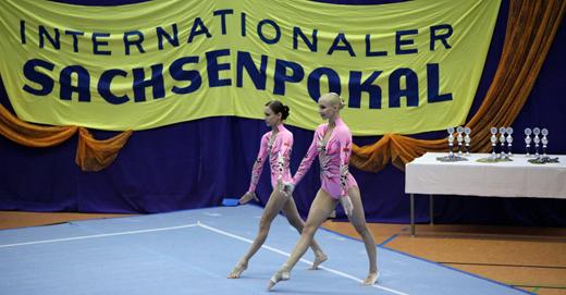 Alina Yushko und Katsiaryna Murashko waren die Stars beim 12. Internationalen Sachsenpokal