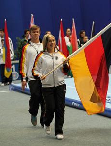 Lea Sauter und Tim Sebastian für Deutschland