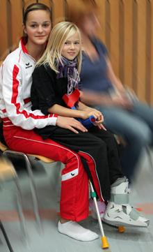 Sarah Haslinger und Lara  Kielkopf