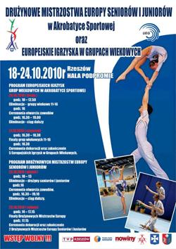 Das Plakat zur Team-EM