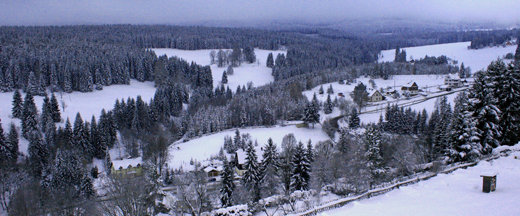 Wunderschönes winterliches Erzgebirge