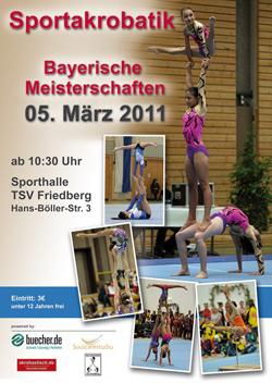 Bayerische Meisterschaft 2011 in Friedberg
