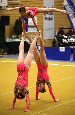 Yulia Ardziakova, Alina Ivanova und Iryna Kalashnik aus Weißrussland