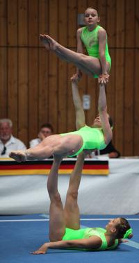 Katharina Bräunlich, Laura Jolitz und Flora Sochor