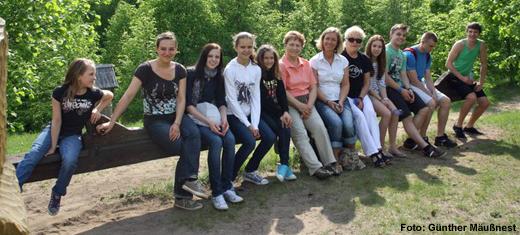 Open Baltic: Gruppenfoto Deutschland