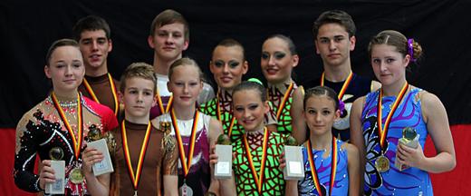 Die Deutschen Mehrkampf-Meister in der Juniorenklasse