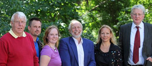 Das Gründungspräsidium des Sportakrobatikverbandes Rheinland-Pfalz