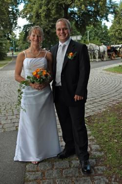 Björn Fünfstück und Antje Michl