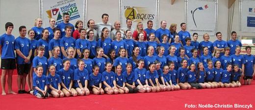 Alles Teilnehmer und Trainer
