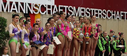 Die Sieger der DMM Junioren & Senioren