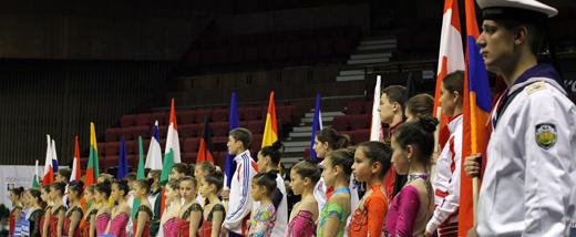 Eröffnungszeremonie der Europameisterschaft