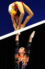 Fotomontage: Katrin und Sophie
