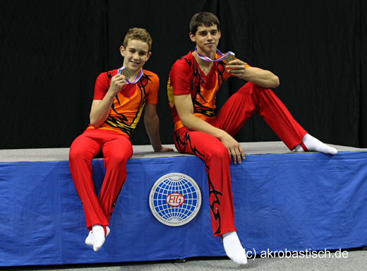 Max Hoppe und Jonas Conrad