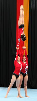 Michelle Mausolf, Antonia Ristedt und Gofrahn Solh