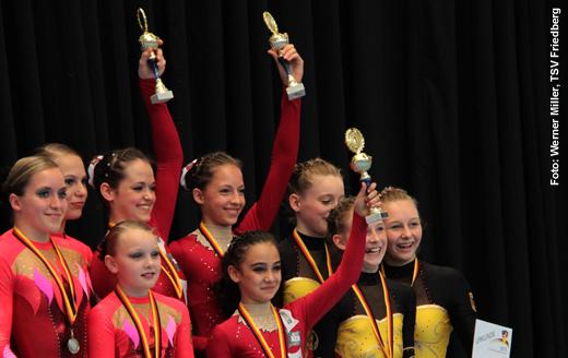 Deutsche Meisterschaft der Jugend: Mehrkampf-Meister Damengruppen