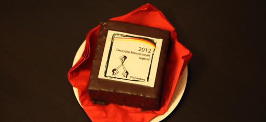 Deutsche Meisterschaft der Jugend: Kuchen-Sonderedition