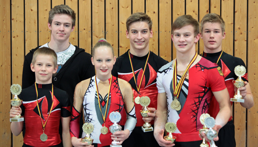 Deutsche Meister Junioren und Senioren 2012