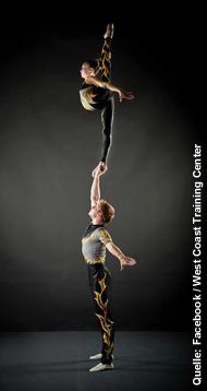 Eirian Smith und Kyle Bloom