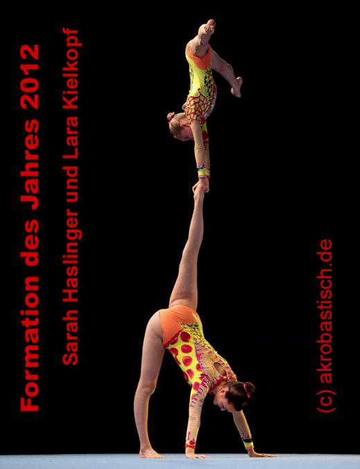 Formation des Jahres 2012: Sarah Haslinger und Lara Kielkopf