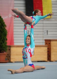 Melanie Nieberding und Luca Tappe