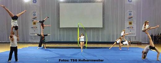 Die TSG Hofherrnweiler bei der Gym of Life World Challenge