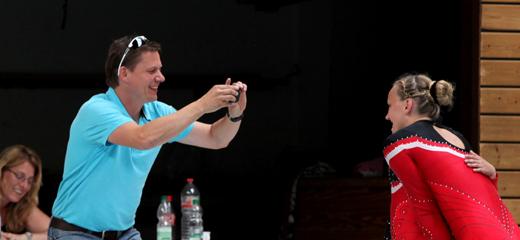 Moderator Alex Höhn in Aktion
