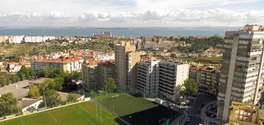 Ausblick vom Hotel Altis Park