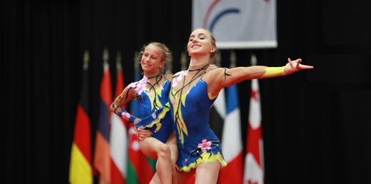 Camille Herrmann und Lilly Kutta