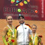 Lissabon, Tag 5: Bronze für Camille Herrmann und Lilly Kutta!