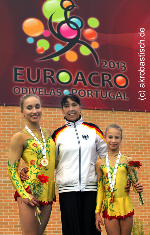 Bronze für Camille Herrmann und Lilly Kutta!