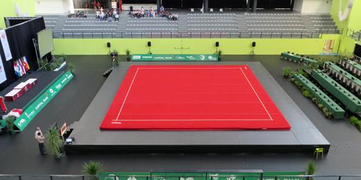 EM 2013: Die Wettkampfhalle