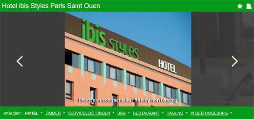 Hotel ibis Styles Paris Saint Ouen