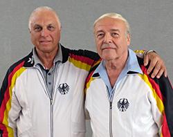 Vitcho Kolev und Werner Kasper
