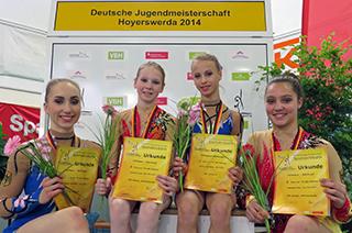 Camille Herrmann und Lilly Kutta / Annalena Kunz und Kim Weickert
