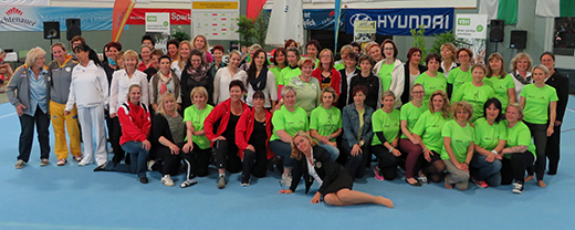 """Zum Muttertag hier die """"Mütter der Deutschen Jugendmeisterschaft 2014 in Hoyerswerda"""""""
