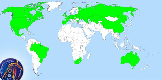34 Länder für die WM in Paris gemeldet